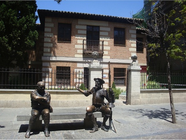 Casa natal de cervantes en alcal de henares madrid - Casas regionales alcala de henares ...