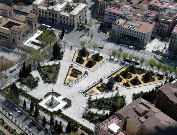 Paseo por los jardines del triunfo granada for Ciudad jardin granada
