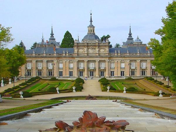 Palacio real de la granja de san idelfonso segovia for Jardines de san ildefonso