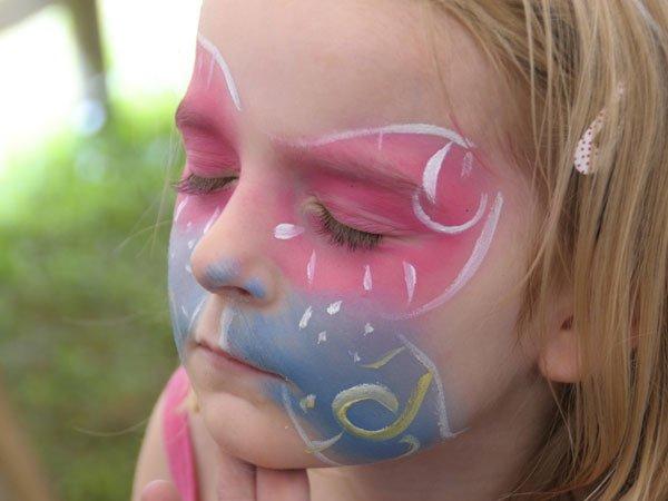 Maquillaje de hada para niñas