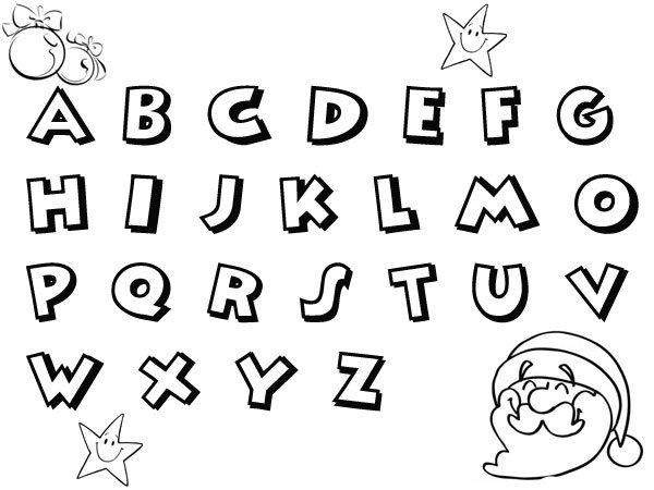 Abecedario de Navidad para niños