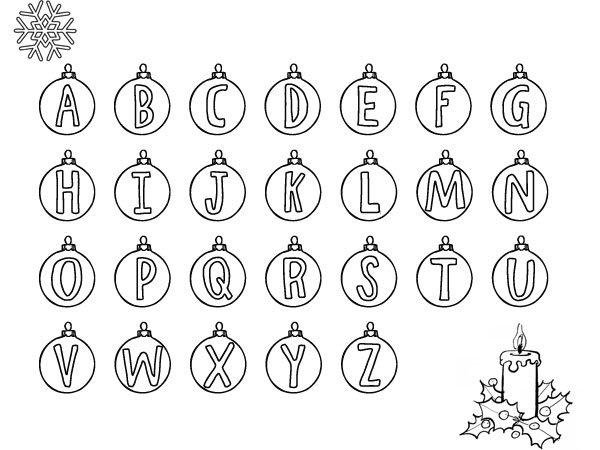 de un abecedario navideo