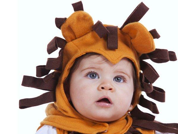 Disfraz casero de leon para niños