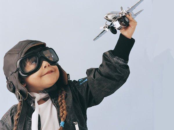 Disfraz de piloto para niños
