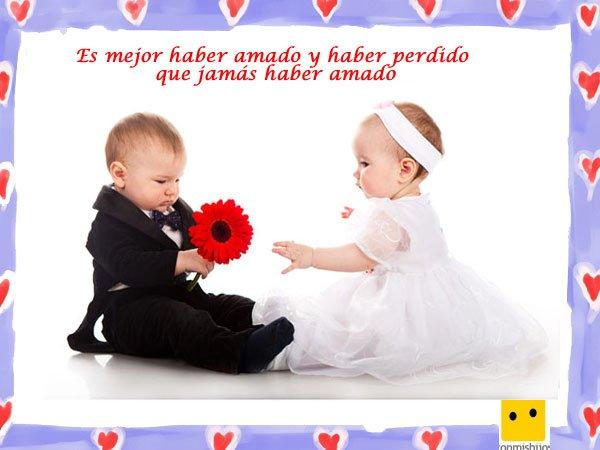 Frases De Amor Para Ninos Imagen De Bebes Novios