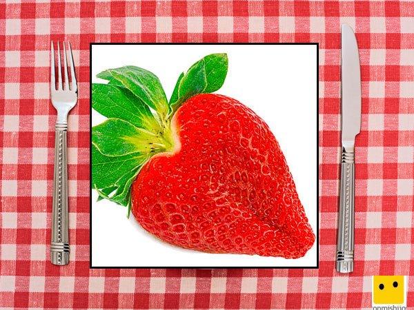 Recetas dulces para niños. Fresas de corazón