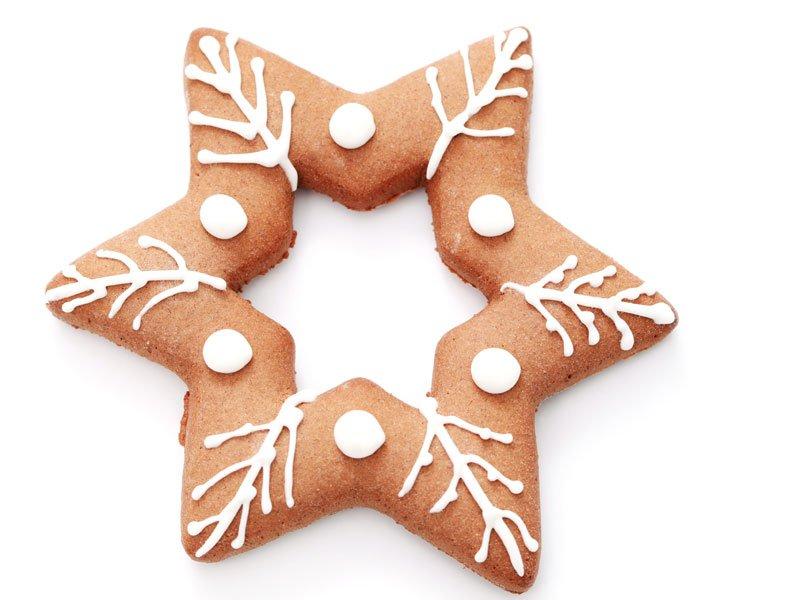 Estrella de galleta