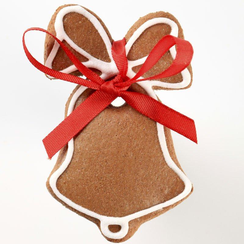 Campana de Navidad de galleta