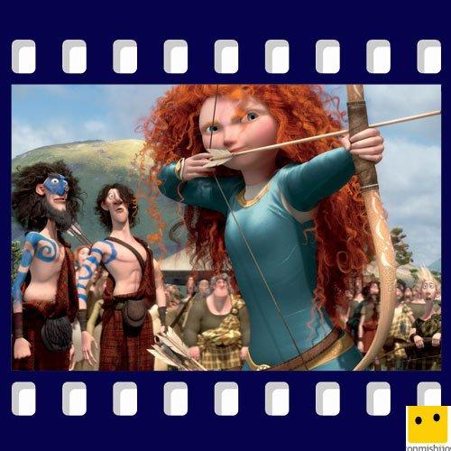La película de animación Brave están nominada para los Oscar
