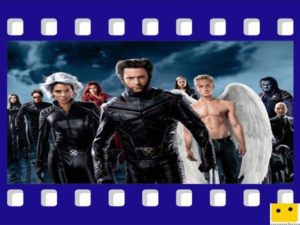 X-Men. Películas para los niños de superhéroes