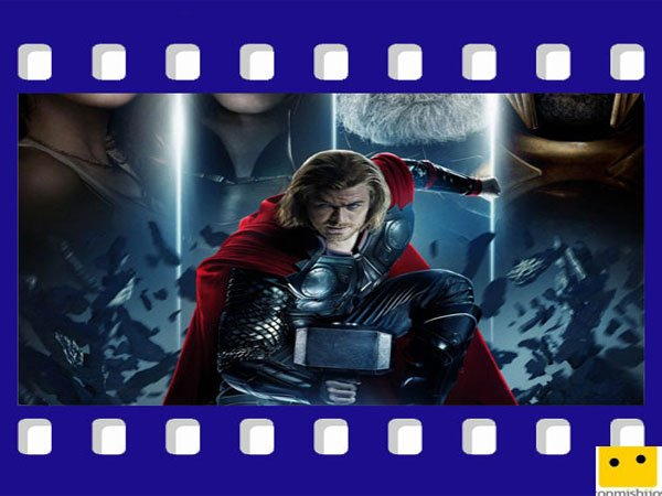 Thor. Películas de superhéroes para niños