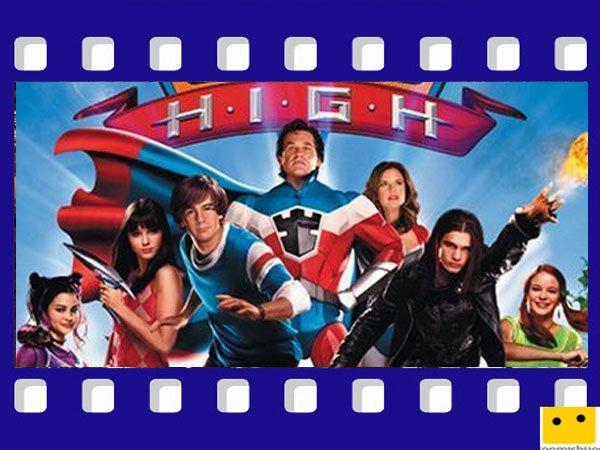 Sky High. Películas para niños de superhéroes