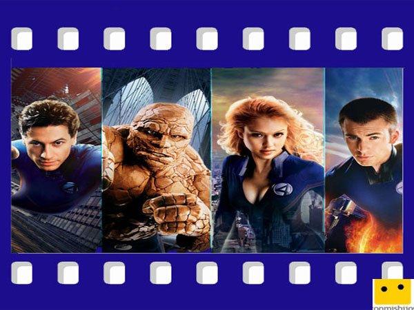 Películas para niños de superhéroes. Los Cuatro Fantásticos