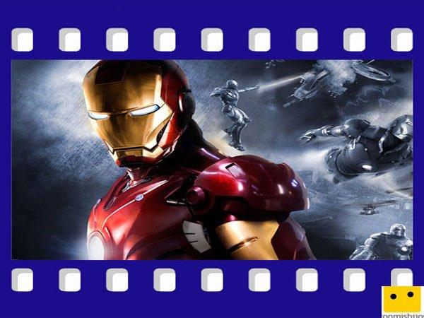 Iron Man. Películas para niños de superhéroes