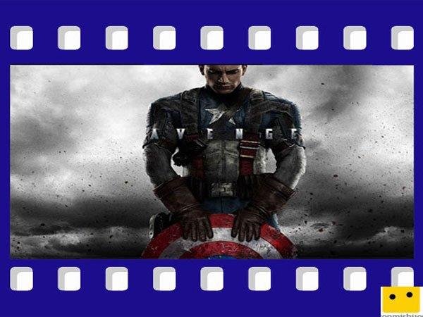 El Capitan América. De superhéroes para ver con los niños
