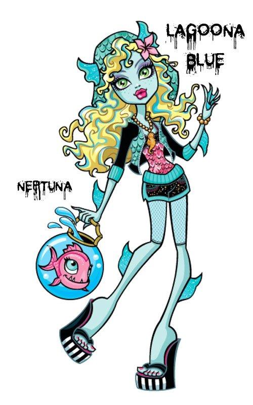 Conoce a los personajes de Monster High. Lagoona Blue