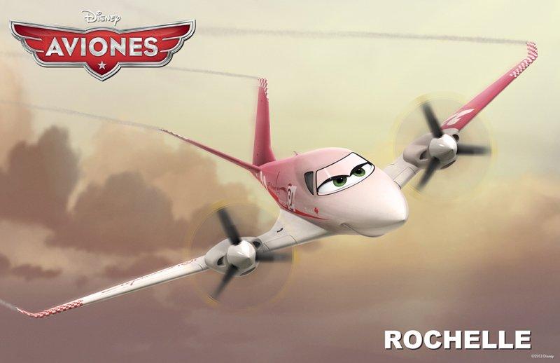Conoce a los personajes de la película para niños 'Aviones'. Rochelle