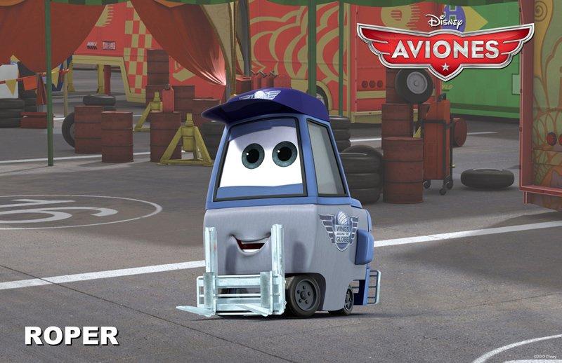 Conoce a los personajes de la película para niños 'Aviones'. Roper