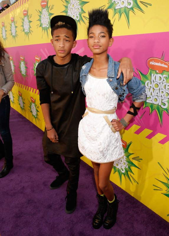 Los hijos de la mega estrella Will Smith, Jaden y Willow Smith