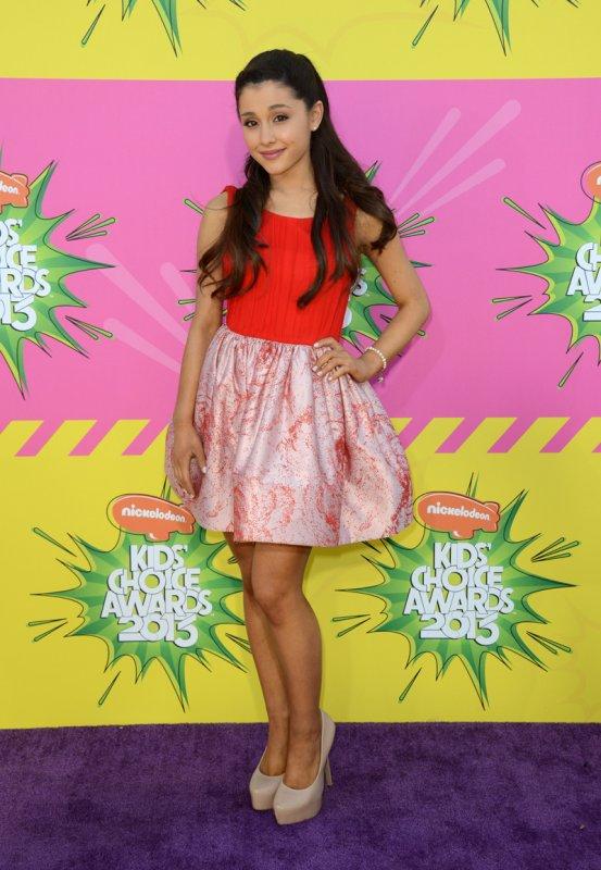La actriz de de la serie juvenil Victorious, Ariana Grande