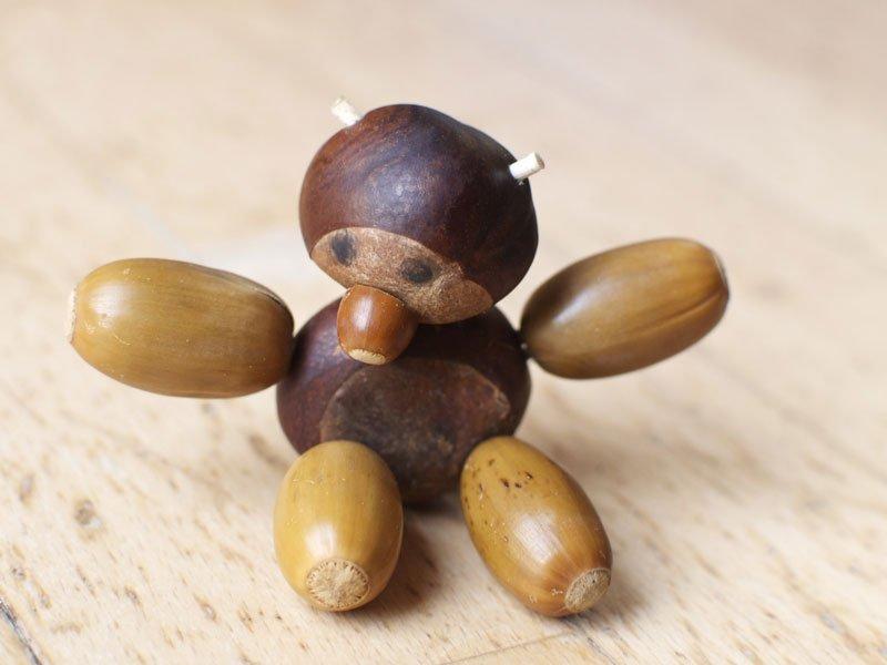 Muñeco de castañas