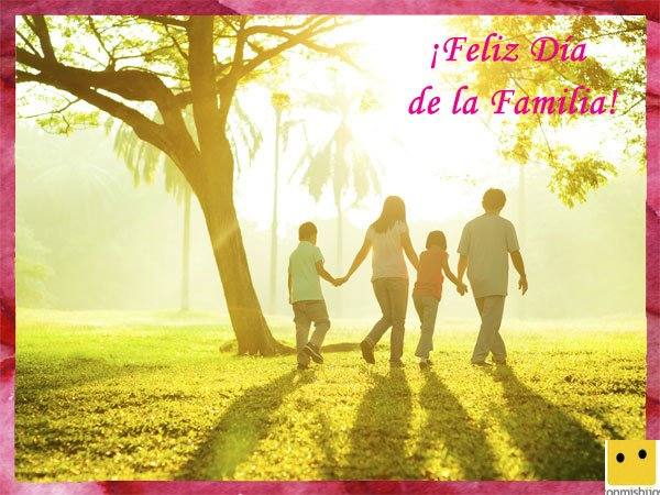 Tarjetas para celebrar el Día Internacional de la Familia