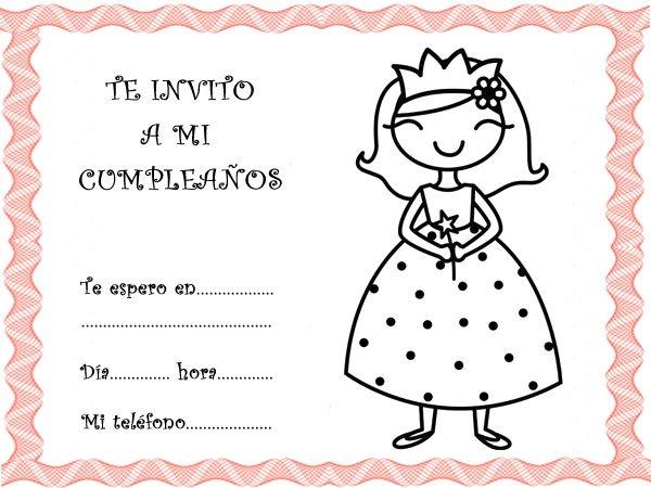 tarjetas de invitacion para cumpleanos - Selo.l-ink.co