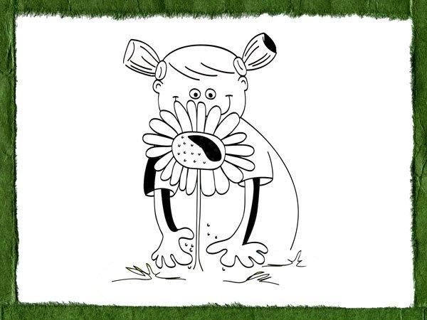 Dibujos Infantiles Sobre El Cuidado Del Medio Ambiente Y La Naturaleza