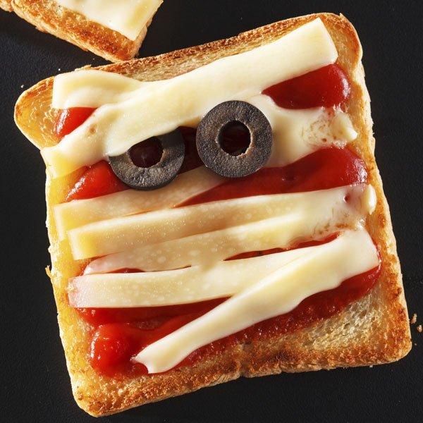 Sandwich momia para niños