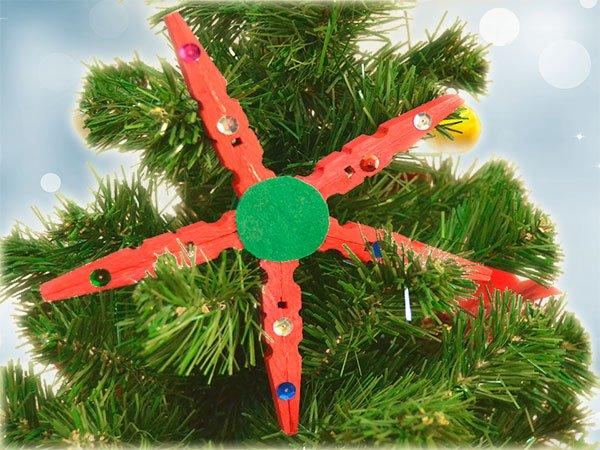 Video De Manualidad De Estrella De Navidad Con Materiales Reciclados - Videos-de-manualidades-para-navidad