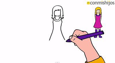 Cómo Dibujar Fácil Una Niña