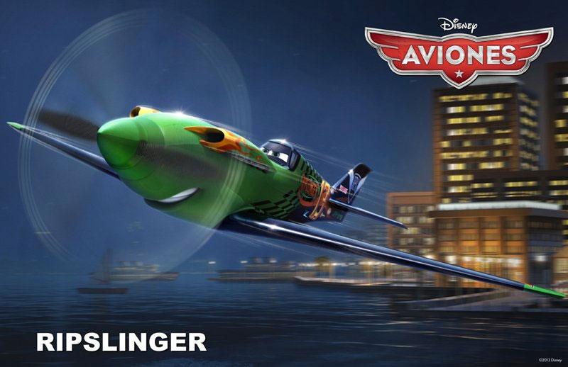 Aviones pelicula de Disney