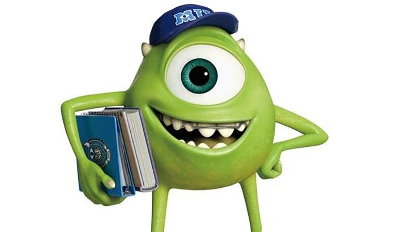 Personajes monstruos university