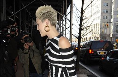 El cambio físico de Miley Cyrus