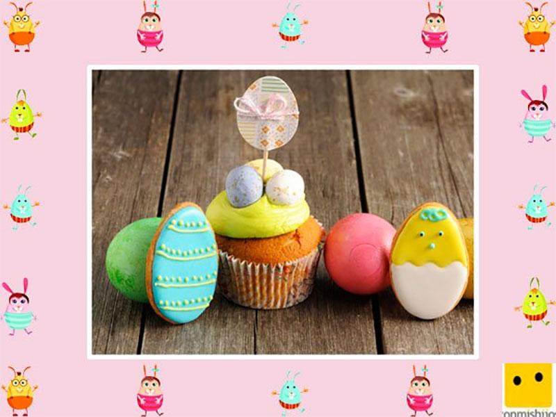 Muffins de Pascua para niños