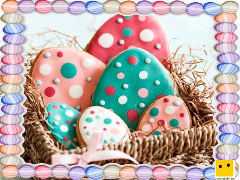 Galletas de Pascua para niños