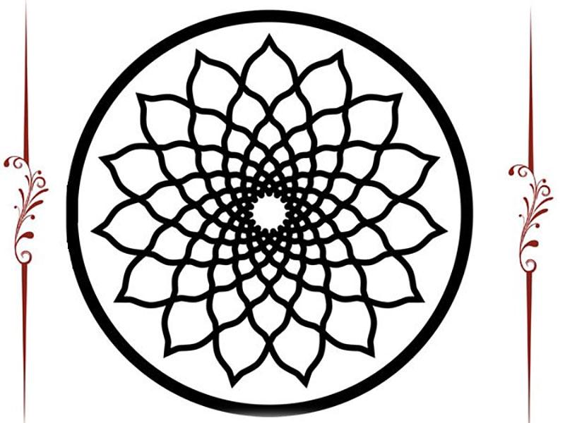 Dibujos Para Imprimir Y Colorear Mandalas: Dibujos De Mandalas Para Imprimir Y Colorear