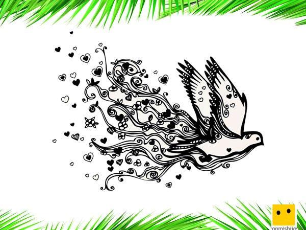Dibujos amor y paz