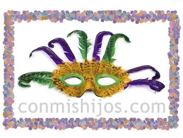 Máscaras fantasía para disfrazarse