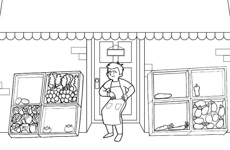 Imagenes De Edificios En Caricatura: Dibujos De Edificios Para Colorear. Top La Opera De Sydney