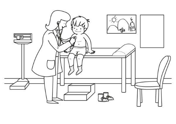 Dibujos De Medicos Para Colorear E Imprimir