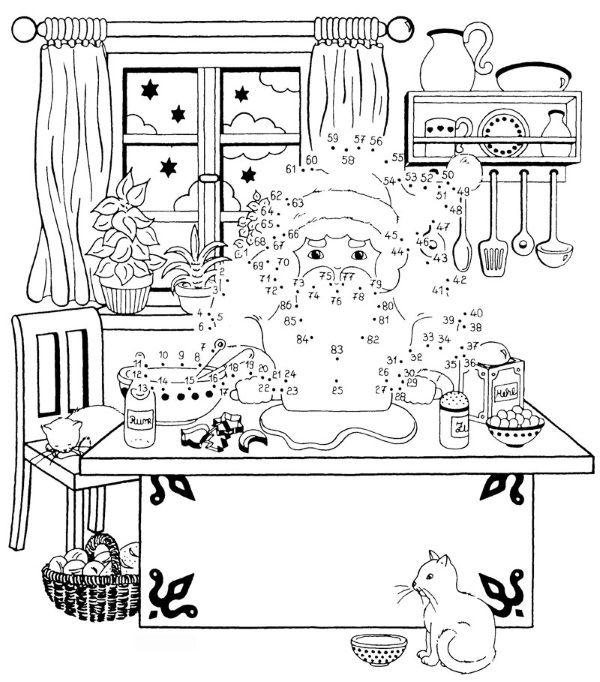 Dibujos para colorear de Papá Noel