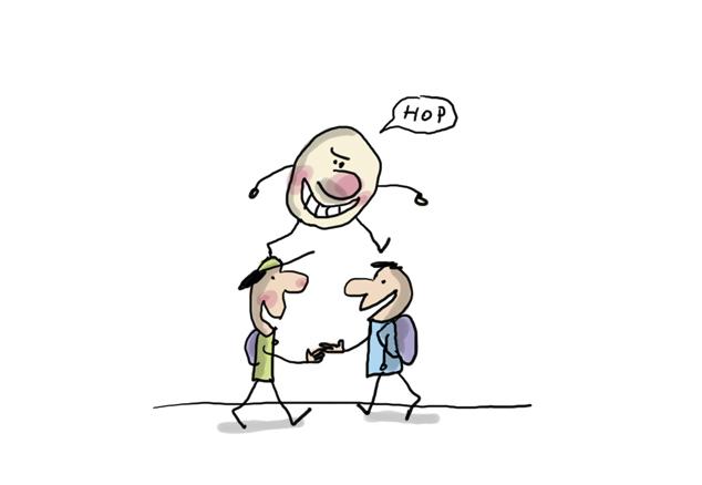 6. Contagio por gripe