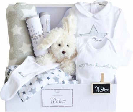 Canastilla personalizada bebes
