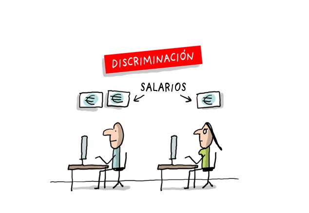 Salario mujeres