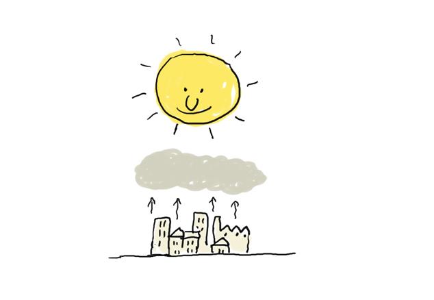 3 La acción del sol