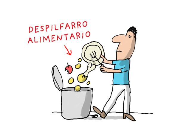 Despilfarro alimentario