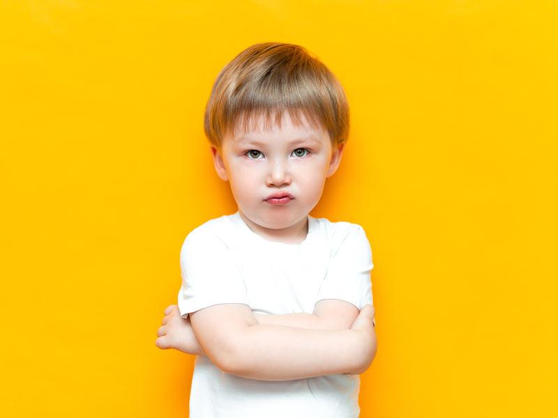 etapa del no en los niños