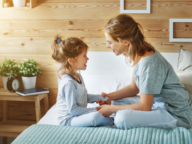 hablar del nacimiento con los hijos