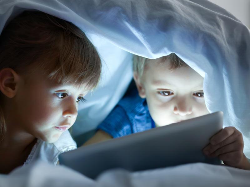 uso de las pantallas en la infancia